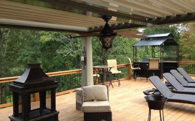 Outdoor Living Space in Demand