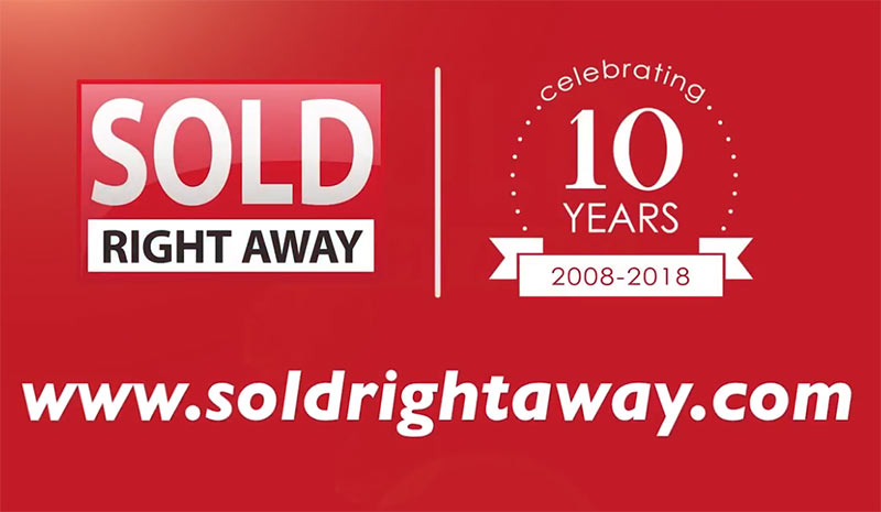 Congrats Sold Right Away on 10 Year Anniversary!
