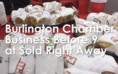 Chamber Business Before 9 – Burlington Marketing Event