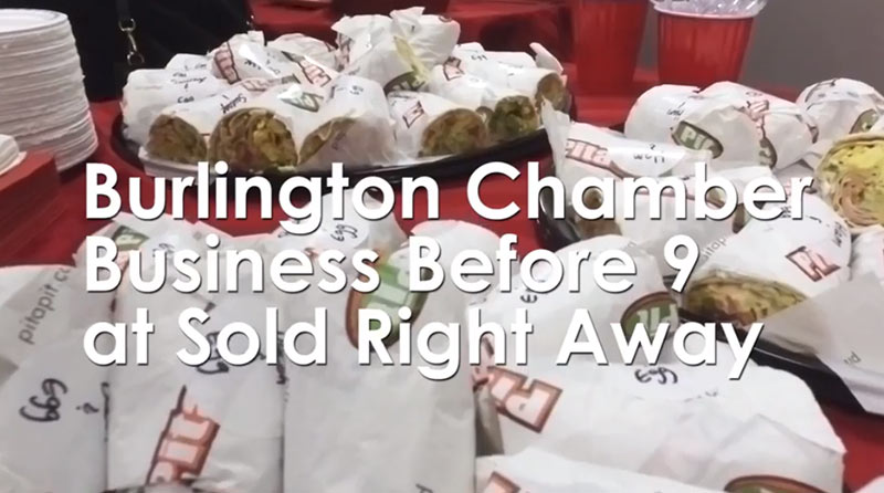 Chamber Business Before 9 – Burlington Marketing Event