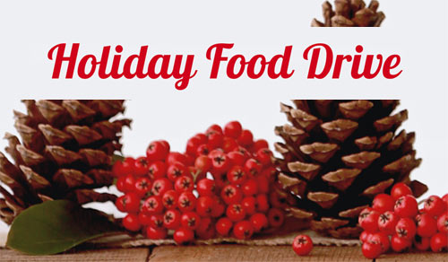 Holiday Food Drive 2018