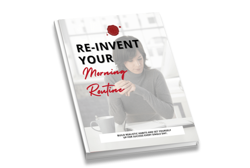 Re-invent your morning routine